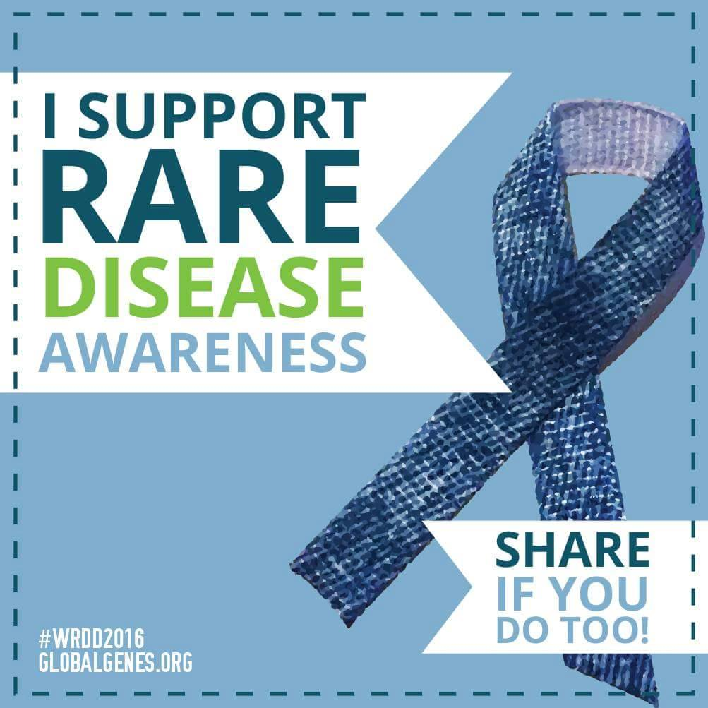 Rare Disease Day- Guest post by Sally Mitcham