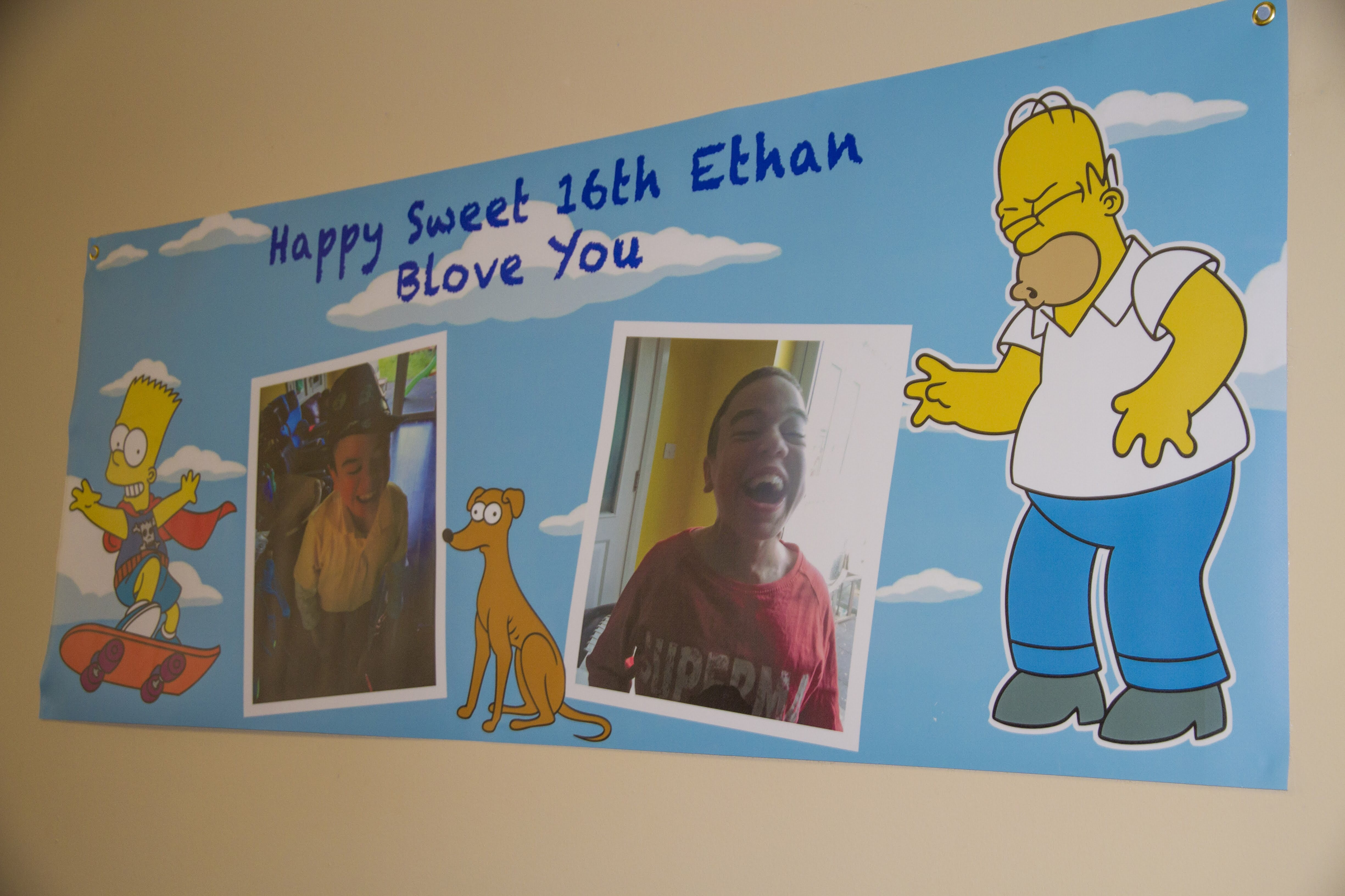 Ethan's Super Duper 16th